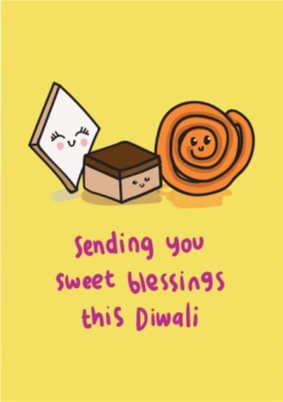 Sending You Sweet Blessings This Diwali Card