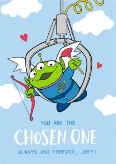 Toy Story Alien Character You Are The Chosen One Anniversary Card
