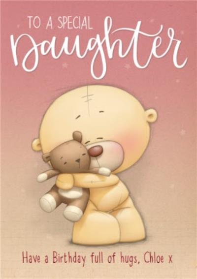 Cute Teddy Bear Design Niece Birthday Card Birthday Card for Her