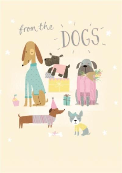 From The Dogs Illustration Card