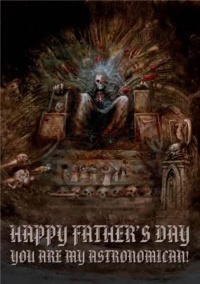 Warhammer Happy Fathers Day Card