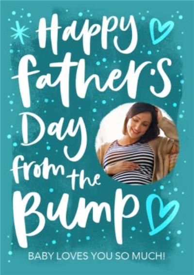 From The Bump Photo Upload Father's Day Card