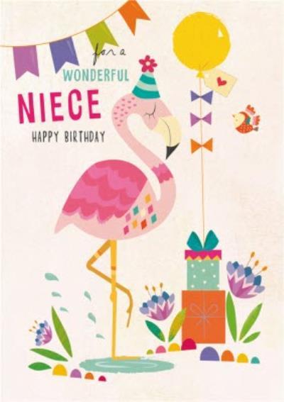 For A Wonderful Niece Happy Birthday Card