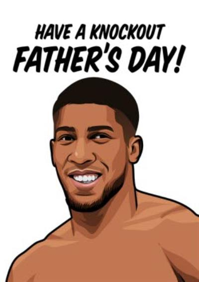 Have A Knockout Fathers Day Card