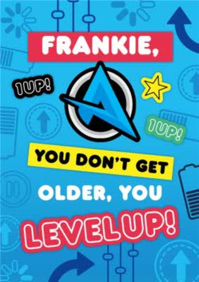 Ali A You Do Not Get Older You Level Up Gaming Happy Birthday Card