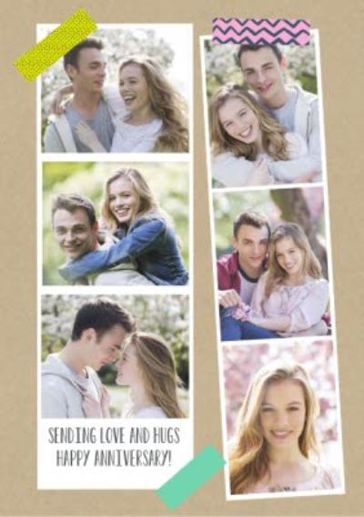 Vertical Photo Strips Card