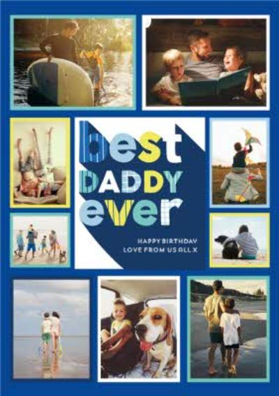 Best Daddy Ever - Photo upload card