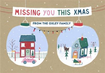 Missing You This Christmas From the Family Card