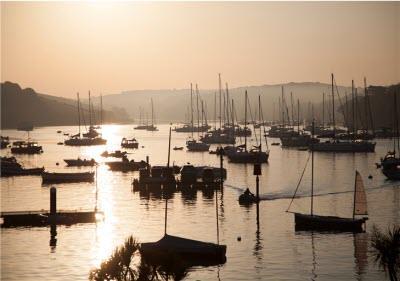 Photo of Sunrise Sail Boats Card