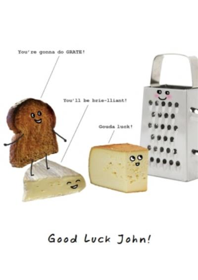 Personalised Valentines Day Card - Funny Toast