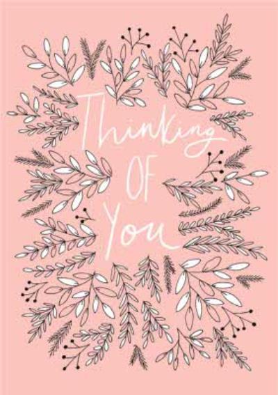 Botany Thinking Of You Card