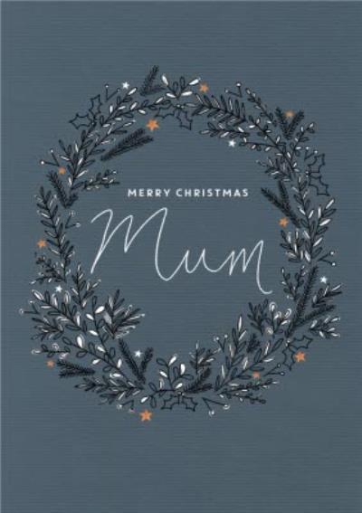 Botany Merry Christmas Mum Card