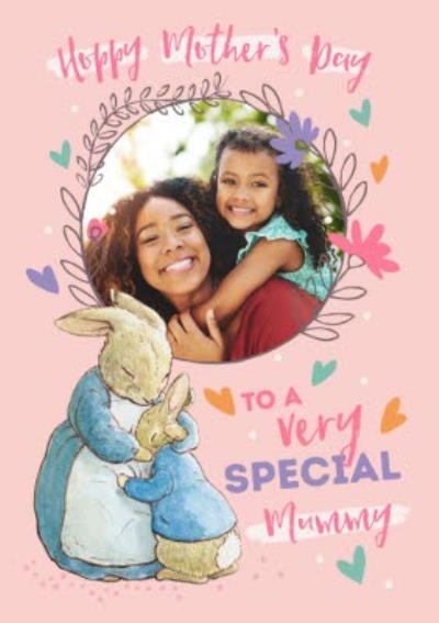 Peter Rabbit To A Very Special Mummy Photo Upload Mother's Day Card