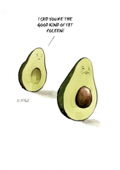 Avocado Joke Card