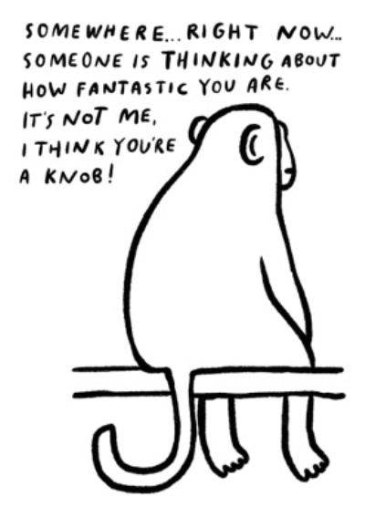 Pigment Someone Is Thinking About How Fantastic You Are Card