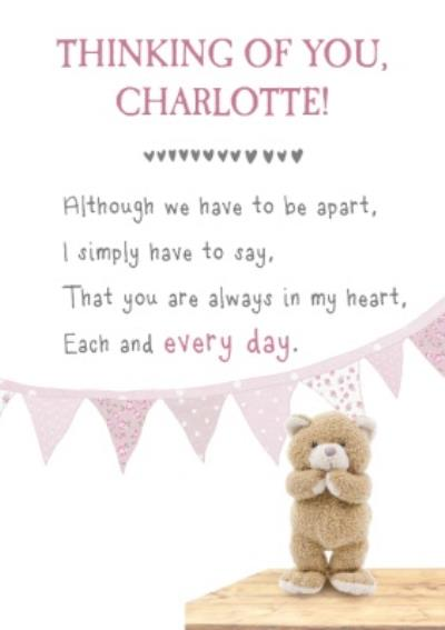 You Are Always In My Heart Thinking of You Card