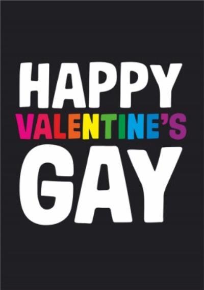 Dean Morris Happy Valentine's Gay Card
