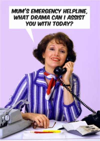 Mums Emergency Helpline Card