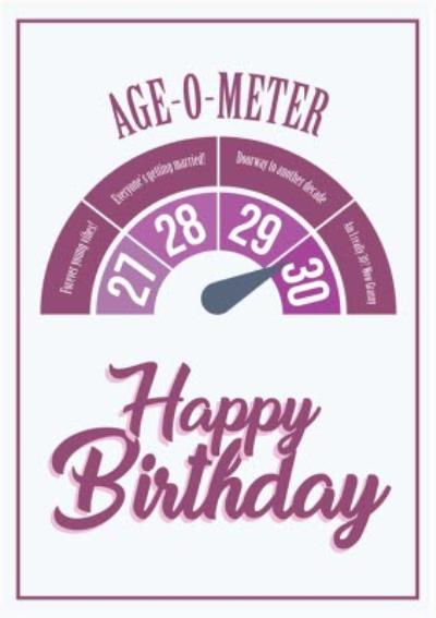 Modern Funny 30 Wow Granny Birthday Card