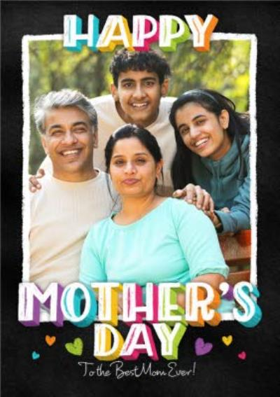 Mother's Day Card - Happy Mother's Day - Photo Upload Card