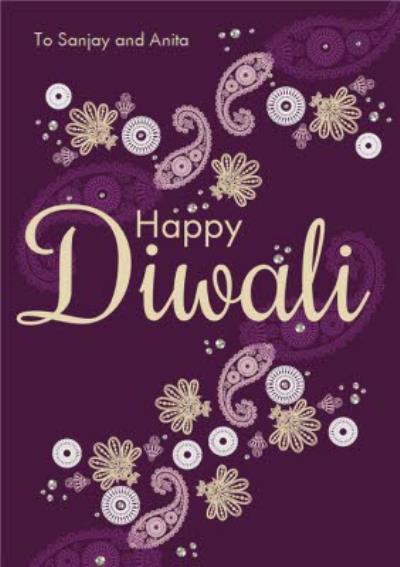 Diwali Celebration Card