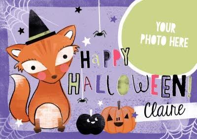 Personalised Halloween Card
