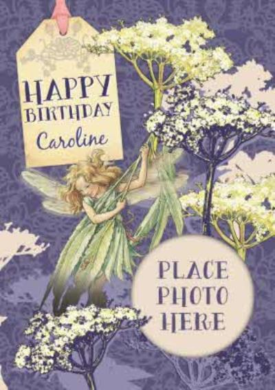Fairies In The Garden Personalised And Photo Birthday Card