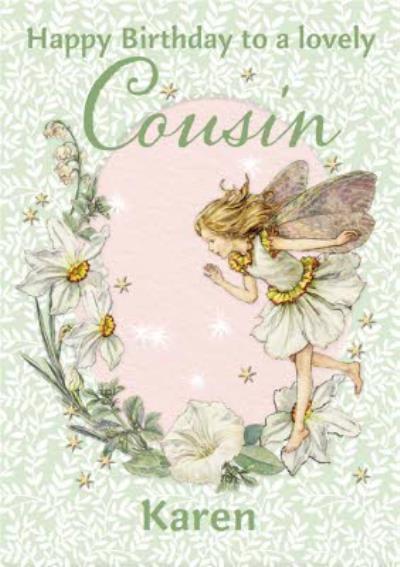 Flower Fairies Lovely Cousin Birthday Card