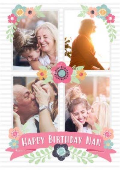 Birthday Card - Nan - Photo Upload