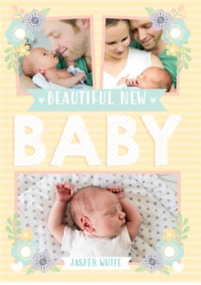 New baby card - Photo  upload