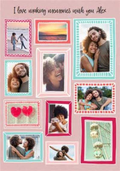 Multiple Photo Upload Valentines Day Card