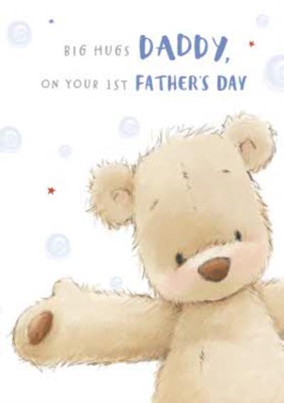 Big Hugs Daddy Card