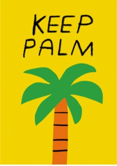 Get well card - keep calm