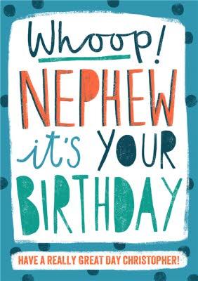 NEPHEW Its Your Birthday