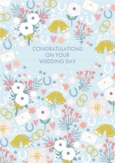 Wedding Bells Congratulations Card