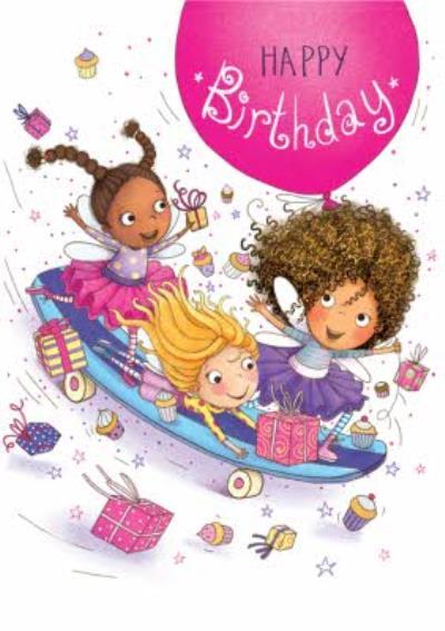 Happy and Fun Skateboard Birthday Card