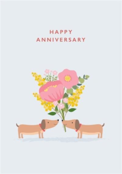 Klara Hawkins Dog Anniversary Card