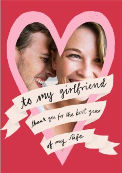Katy Welsh Photo Upload To My Girlfriend Anniversary Card