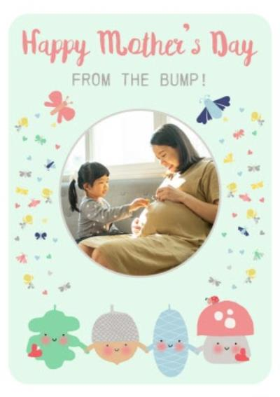Little Acorns Happy Mothers Day From The Bump Mothers Day Card