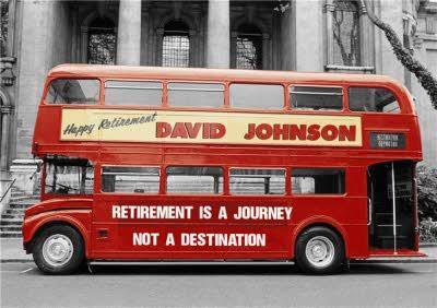 Personalised Retirement Card