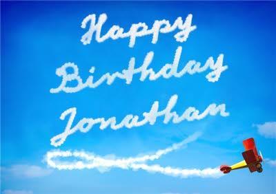 Sky Writing Birthday Card