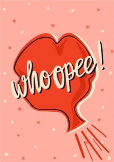Whoopee Card