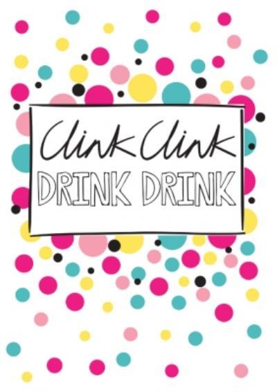 Wink Wink Drink Drink Card
