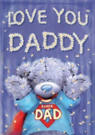 Tatty Teddy Super Dad Father's Day Card