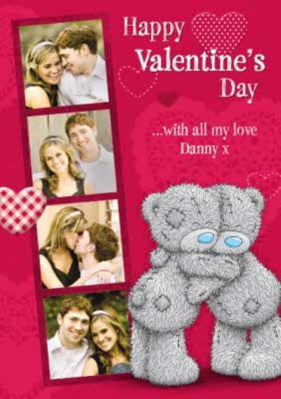 Tatty Teddy Valentine's Day Card