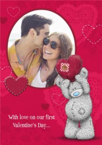 First Valentine's Day Card - Tatty Teddy Valentine's Day Card