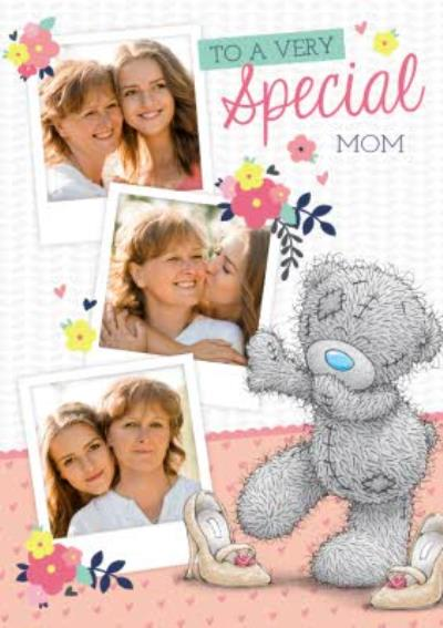 Mother's Day Card - Tatty Teddy Photo Upload Card - To A Very Special Mum