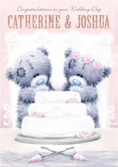 Tatty Teddy Congrats On Your Wedding Day Card