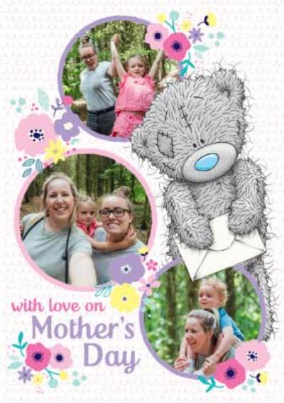 Photo Mother's Day Card. A multiple photo upload card for pictures of you and your mum.