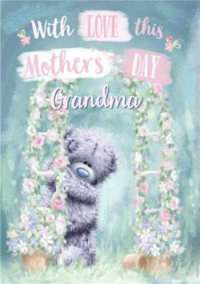Mother's Day Card - Grandma - Tatty Teddy